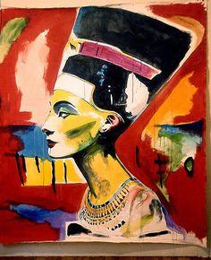Nefertiti by Robert House Ancient Egyptian Art, Dope Art, Art For Art Sake, Illustrations, Photos Du, Painting & Drawing, House Painting, Saatchi Art, Canvas Art