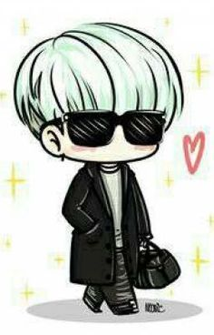 Chibi 58 41 Awesome Bts Drawing Chibi Easy at Getdrawings Bts Chibi, Bts Suga, Bts Kawaii, Bts Art, Bts Anime, Kpop Drawings, Pencil Drawings, Anime Wolf, Kpop Fanart
