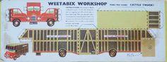 1954 Weetabix Workshop Series 5 Cattle Truck
