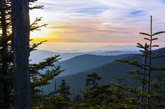 Great Smoky Mountains Sunset by Greg Gelber on 500px
