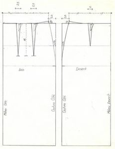 Comment créer sa jupe droite à ses mesures - Base - LES ATELIERS DE CLARAINES Bodice Pattern, Fashion Design Drawings, Couture Sewing, Straight Skirt, Pattern Drafting, African Wear, Designs To Draw, Men Dress, Sewing Patterns