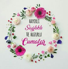 #Cuma mesajlar #Hayirli Cumalar #Hayırlı cumalar #HayirliCumalar #Hayırlıcumalar #Cumamesajları #cumamesajlari #islam Deer Hunting Birthday, 40th Birthday, Birthday Parties, Happy Birthday, Friday Messages, Balloon Wreath, Elle Decor, Special Day, Islam