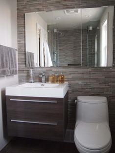 Small Bathroom - great idea for our bathroom