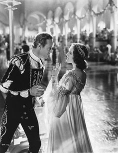 Leslie Howard and Norma Shearer in Romeo and Juliet  (George Cukor, 1936) first posted by lottereinigerforever