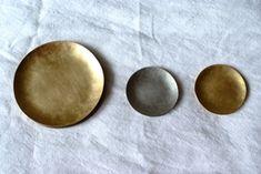 豆皿・小皿(木と金属編)