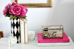 Decoração do quarto lindo e feminino de Stephanie Sterjovski