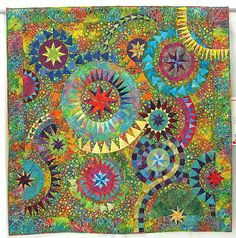 """""""A Colourful Galaxy"""" quilt - Unknown (original """"Colorful Quilt"""" ©becolourful)"""