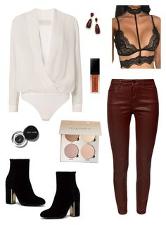 Sem título #19 by tatianabraolis on Polyvore featuring polyvore, fashion, style, Michelle Mason, WithChic, Kendra Scott, Bobbi Brown Cosmetics and clothing