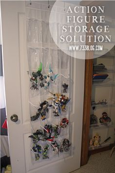 Action Figure Organization {Help for Moms of Boys} by www.733blog.com