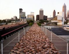 Spencer Tunick's largest installation in the U.S. 2,754 people June 26, 2004