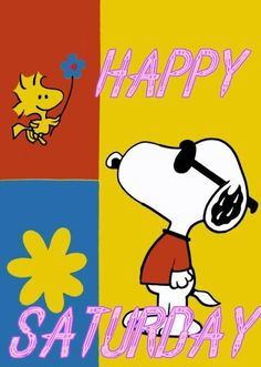 Snoopy Saturday with Woodstock!