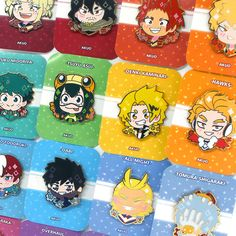 Boku no Hero Academia Enamel Pin · AKUO · Online Store Powered by Storenvy