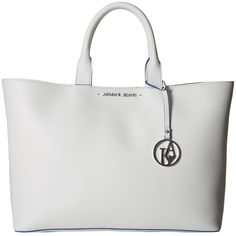 76a74d47760 Armani Jeans Shopping Bag with Small Pouch (White) Bags (190 CAD) ❤