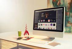 30 Modern iMac Computer Desk Arrangement