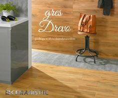 Floor tiles looking like wooden planks? Drevo by CERAMSTIC! /Płytki podłogowe wyglądające jak drewniane deski? Kolekcja Drevo marki CERAMSTIC!