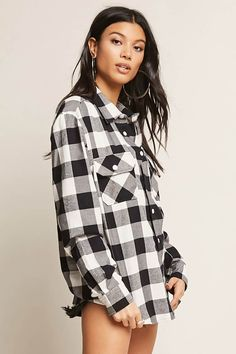 Product Name:Von Dutch Plaid Flannel Shirt, Category:CLEARANCE_ZERO, Price:58