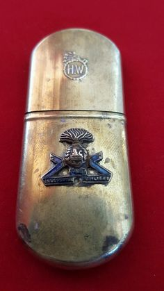 H.W Hahway Trench Lighter With The Lancashire fusiliers in Collectables, Militaria, Other Militaria | eBay
