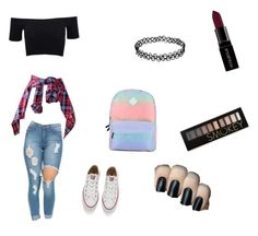"""""""Love //"""" by albertenowak on Polyvore featuring beauty, American Apparel, Vans, Converse, Smashbox and Forever 21"""