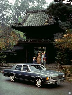 1977 Chevrolet Caprice Classic Four Door Sedan