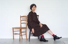 マッシュ発! anAcorn × chausser × HUMAN WOMANトリプルコラボによる『みちくさブーツ』が完成|Feature(特集記事)|HUMAN WOMAN [ヒューマンウーマン]