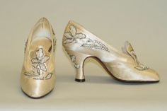 André Perugia Wedding Shoes, Met, 1925
