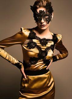 glamorous costume for host