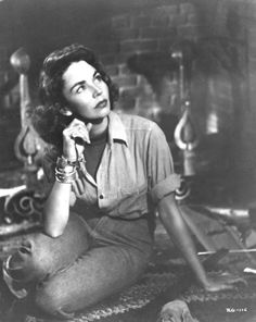 Jennifer Jones this is from a movie with Joseph Cotten, Love Letters- hard to find but worth searching for!