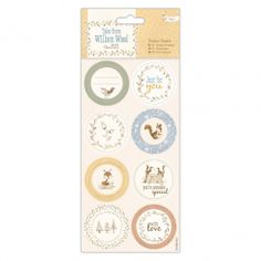 Papermania Sticker Sheets (16pcs) - Tales from Willson Wood