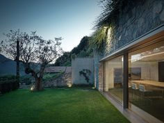 Description by Rocco Borromini This project concerns the extension of an existing detached house. The plot is nestled in the mountains of Valtellina, on the weastern side of the bed of a small stre…