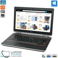 Dell Latitude E6320 Intel i7 8GB RAM 240GB SSD DVD-RW VGA HDMI Win10 Dell Laptops, Dell Latitude, Card Reader, Sd Card, Hdd, Windows 10, Mini, Korea