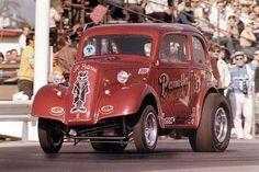 Vintage Drag Racing - Gasser - Anglia