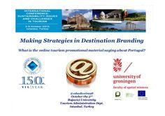 Making Strategies in Destination Branding
