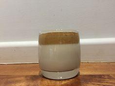 Quick 2 minute addicting coffee Glass Of Milk, Pudding, Coffee, Desserts, Food, Kaffee, Tailgate Desserts, Deserts, Custard Pudding