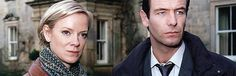 """""""Wire in the blood"""" with Robson Green as Dr Tony Hill and Hermione Norris as DI/DCI Carol Jordan (the couple that obviously wanted each other but it never happened) Series ended in 2008"""