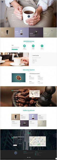 Cellulite Removal With Coffee Grounds Homepage Design, Web Design Trends, Web Design Inspiration, App Design, Responsive Web Design, Ui Web, Web Layout, Layout Design, Coffee Websites
