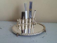 Vintage Silver Filigree Lipstick Holder / by RedBarnGarden on Etsy