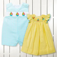 Take a look at the Smiling in Smocking event on zulily today!