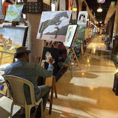 #art in action in the #souq #doha #qatar #painting  #worldcaptures #beautifuldestinations #PassionPassport #WorldPlaces #TravelStoke #TravelAwesome #DarlingWeekend #BBCTravel #LoveTheWorld #GuardianTravelSnaps #ABMtravelbug #meettheworld #30xthirty #IgersLondon #worldnomads #FodorsOnTheGo #Travel #sun #sea #sand #instagood #instatravel #throwback #tb #photo