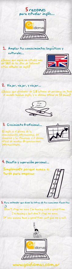 5 razones para empezar a estudiar inglés