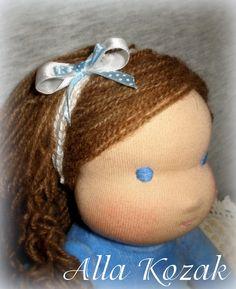 Новая куколка ростиком 33см для очаровательной девочки Эвы.