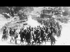 Ottomn soldiers marching through Anatolian mountains. Turkish Army, Troops, Soldiers, World War One, Historical Clothing, Wwi, Armies, Youtube, Islam