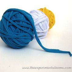 T-shirt yarn is a wonderful alternative to regular yarn. It's softer, which makes for fabulous blankets and such. In order to work with this free craft for kids, you need to know How to Make T-Shirt Yarn.