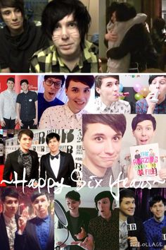 This is a couple of hours early, but I wouldn't be able to post it tomorrow:/ happy sixth anniversary Dan and Phil:) (October 19) #phan