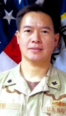 Navy CDR. Joel Del Mundo Tiu, 49, of Manila, Republic of the Philippines. CDR. Tiu enlisted in 1984 and rose to the rank of chief before he was commissioned as an officer in 1995. He died October 13, 2012, serving during Operation Enduring Freedom. Assigned to Logistics Forces, U.S. Naval Forces Central Command, Manama, Bahrain. Died as a result of non-combat related injuries.