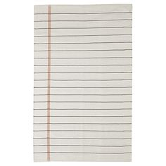 Composition Notebook paper Rug from Land of Nod