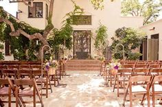 The Villa San Juan Capistrano wedding venue in Orange County. Find out more details on WomanGettingMarried.com