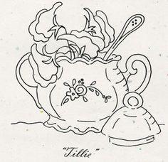 """Tea Party """"Tillie"""" Pattern"""