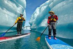 Liquid Adventures | Kayak and Stand Up Paddle Tours in Seward Alaska #SUP #standuppaddle #SUPvacations #SUPbucketlist
