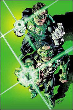 Green Lanterns: Hal Jordan and Kyle Rayner - Darryl Banks
