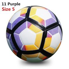5b03c79bf8cf7 High Quality New 2017 Official Size 4 or 5 Soccerball Granule  Slip-resistant Soccer Skills